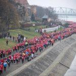 Ulice Torunia wypełniły się tłumem świątecznych biegaczy!
